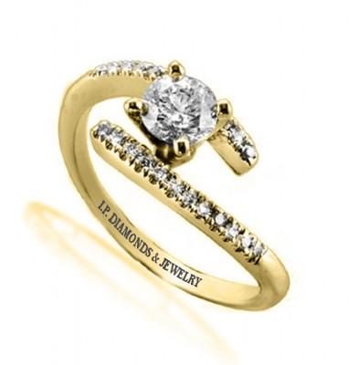 סופר איך לבחור טבעת אירוסין | איך בוחרים טבעת אירוסין | I.P. Diamonds TU-63